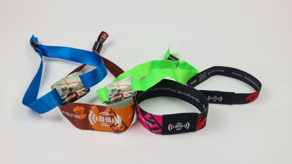 RFID Armbänder individuell bedruckt
